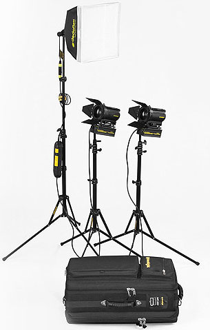 LICHTKOFFER DEDOLIGHT PORTABLE STUDIO