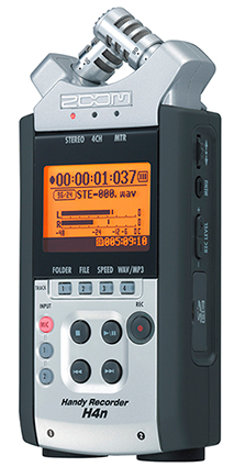 Fieldrecorder Zoom H4N