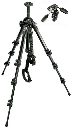 FOTO-STATIV (MANFROTTO 055MF3)