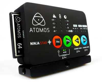 Pocket Recorder Atomos Ninja Star