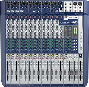 Mischpult Soundcraft Signature 16